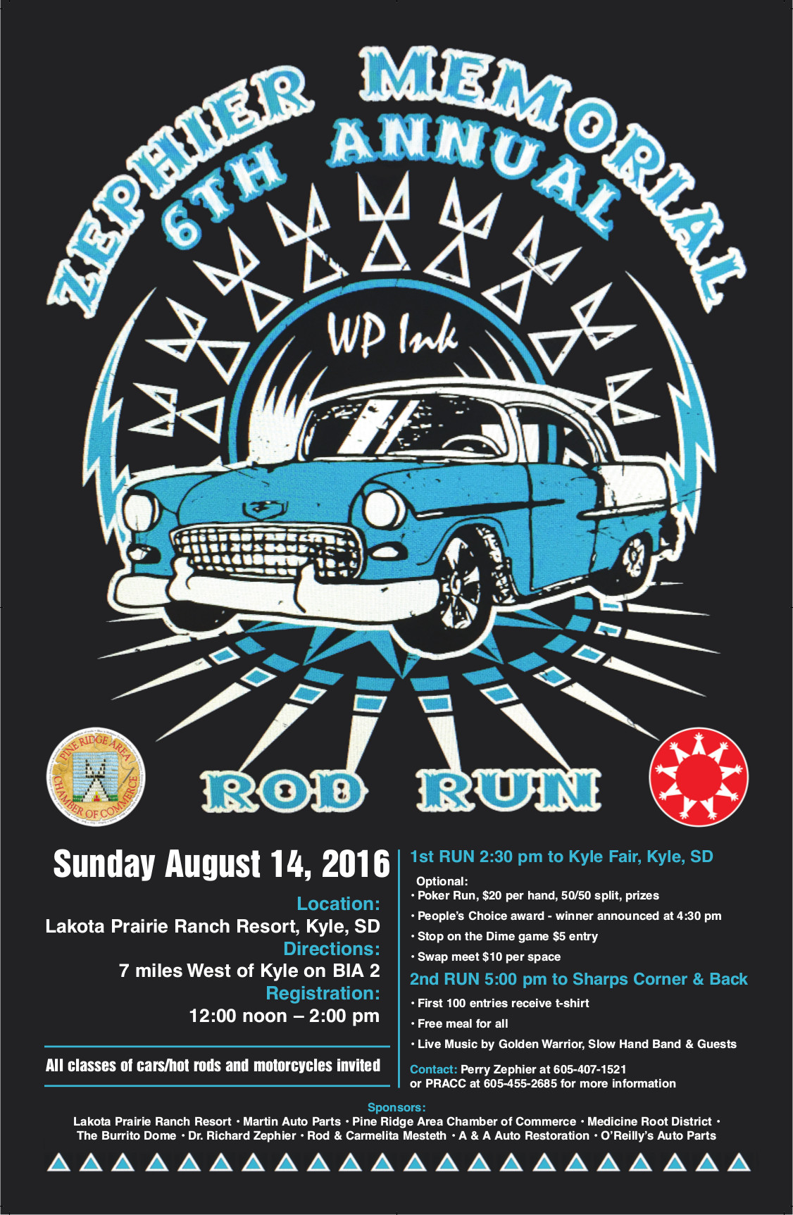 Zephier Memorial Rod Run!